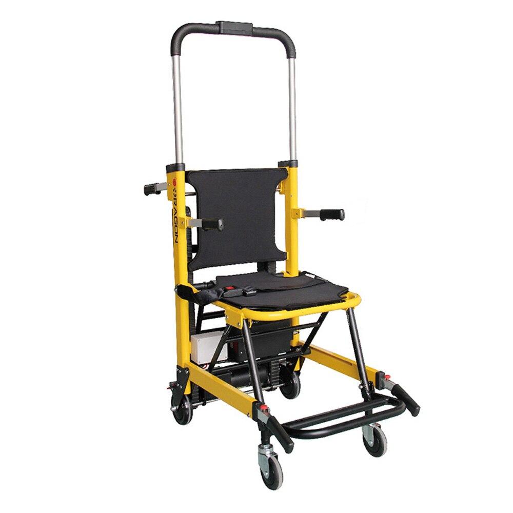Алюминиевый сплав Электрический лестницы восхождение автомобиль для больниц аварийных центров высотных зданий лестницы носилки