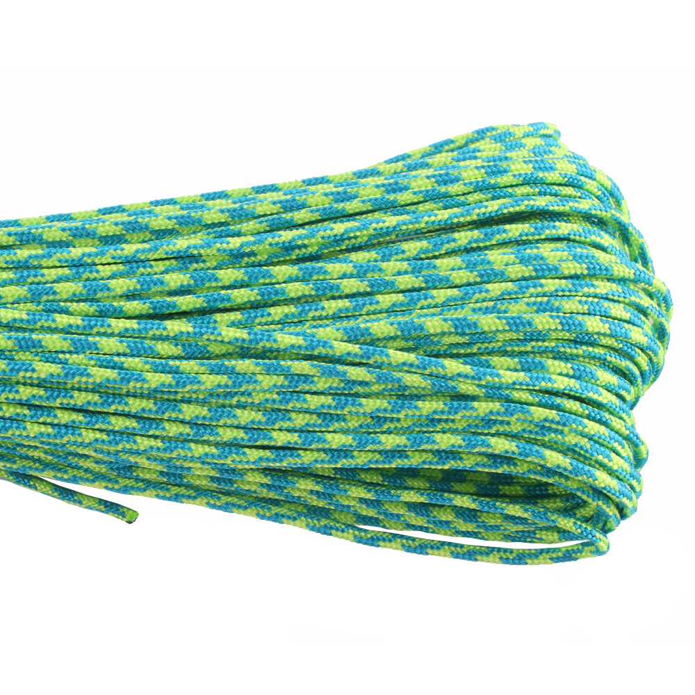 50FT 2mm Paracord More Than 100 Colors One Stand Cores Paracord Rope Paracorde Cord For Jewelry Making Wholesale