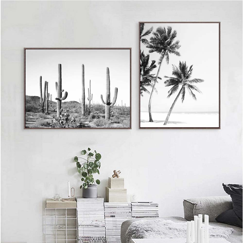 Simple canvas painting posters and prints wall art decor