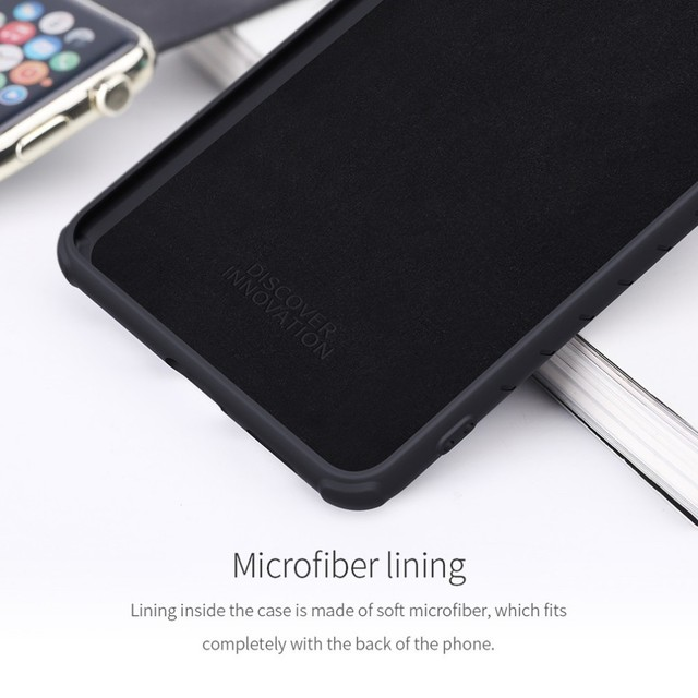 NILLKIN Rubber Wrapped Protective Case For Xiaomi Redmi K20/K20 Pro Mi 9T 9T Pro Slim Soft Liquid Silicone Shockproof Phone Bag 4