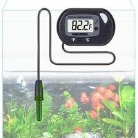 LCD Hiển Thị Aquarium Nhiệt Kế Kỹ Thuật Số Nước Nhiệt Kế Cho Fish Tank Hồ Cạn Bò Sát Nhiệt Độ Meter