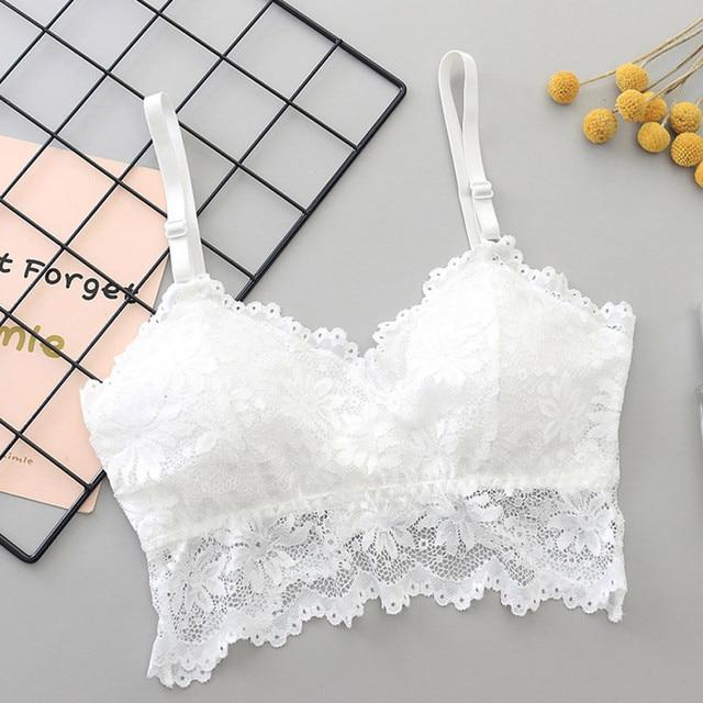 Summer women's lace stitching hot thin shoulder straps bottom sexy fashion anti-light strap underwear lace top camisole 51* 4