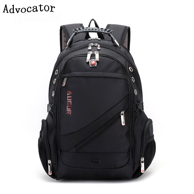 Advocator Oxford 17Inch Laptop Men Backpack Large Capacity Student School Bag for College Patchwork Business Trip Men Rucksack