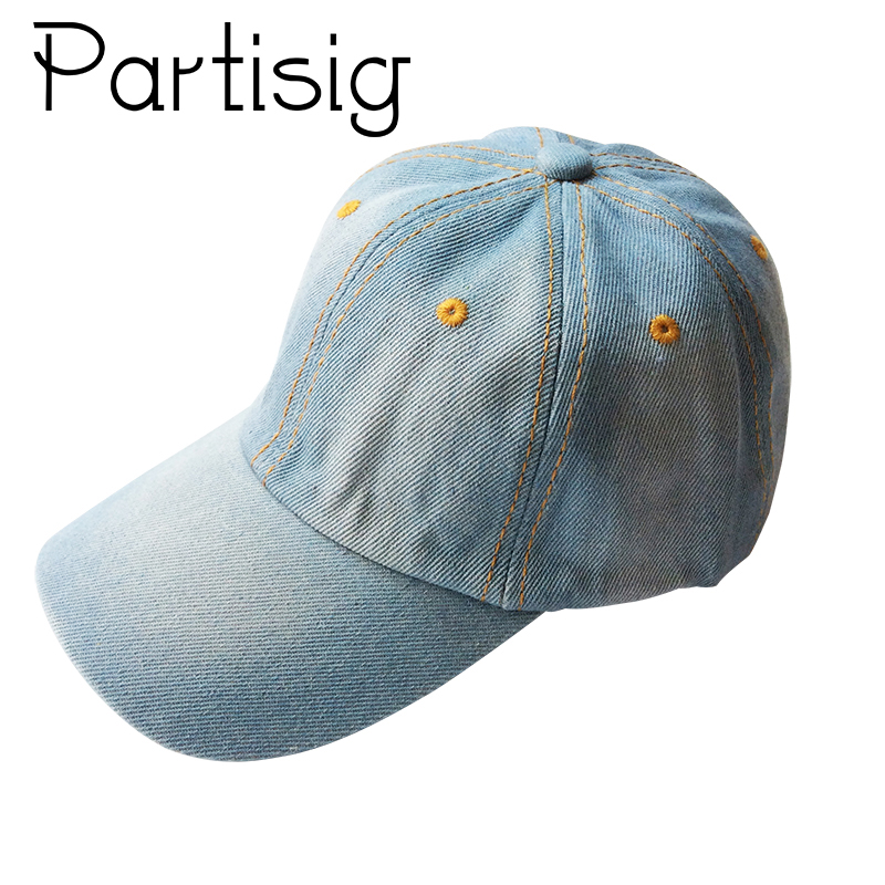 где купить Baby Denim Baseball Cap Cowboy Snapback Hat For Boys And Girls Summer Children Hip Hop Hat дешево