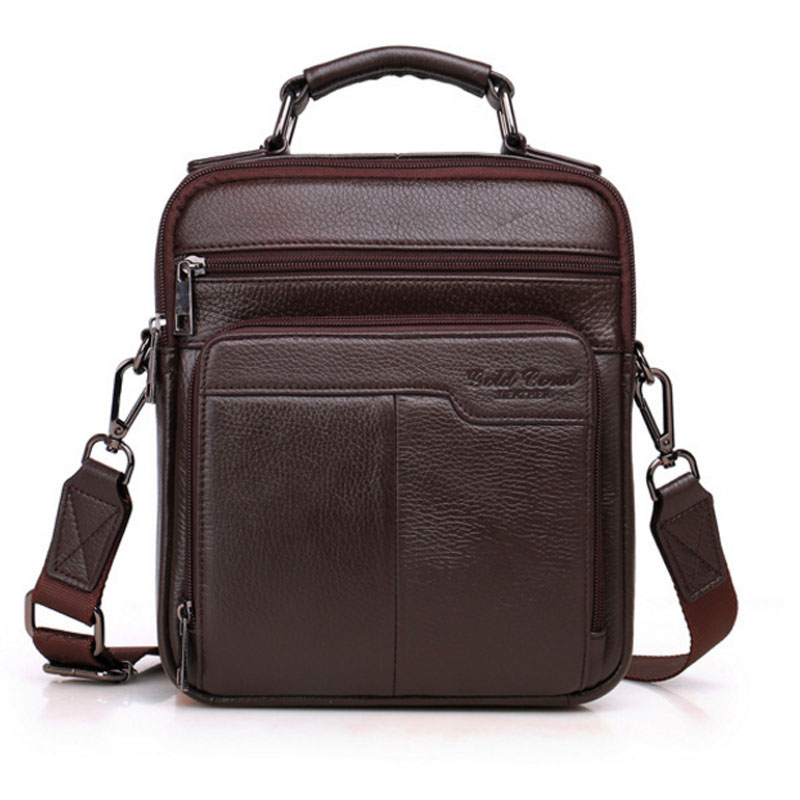 Men Genuine Leather First layer Cowhide Handbag fashion Business Crossbody Shoulder Bag Cigarette Case wallet Bag HandbagsMen Genuine Leather First layer Cowhide Handbag fashion Business Crossbody Shoulder Bag Cigarette Case wallet Bag Handbags