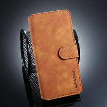 DG. Flip Case For One Plus 7 Pro Leather Cover Phone Protector 7Pro 6T Fundas Magnetic Wallet Pocket