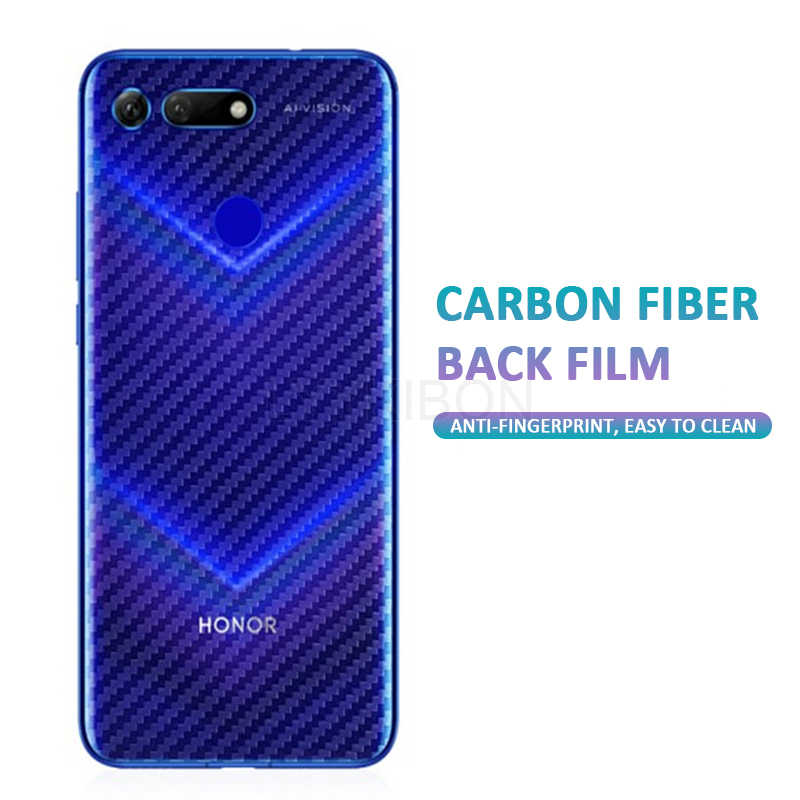Soft carbon fiber back flim honor 9 10 lite 7A 8A for huawei P10 P20 p30 mate 20 Pro Y5 Y6 Y7 Y9 Prime 2019 case Protective film