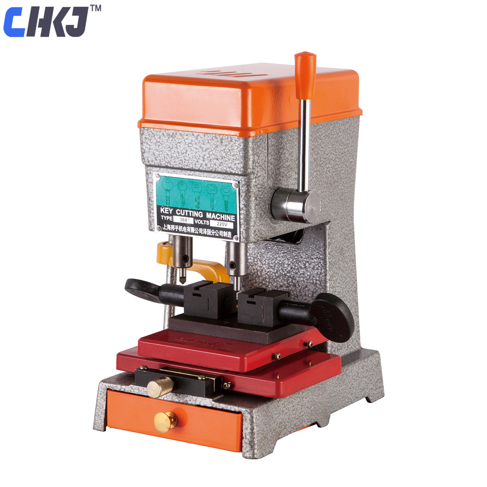 CHKJ Goso 368A Newest Model Key Cutting Machine Car Door Key Cutting Copy Machine For Making Keys Duplicator Locksmith Tool