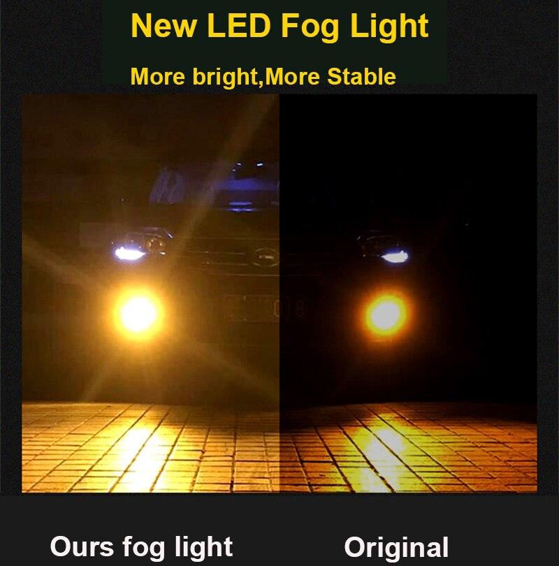 2 17CM WATERPROOF COB LED STRIP DAYTIME RUNNING DRL FOG DRIVING BLUE LIGHTS N4