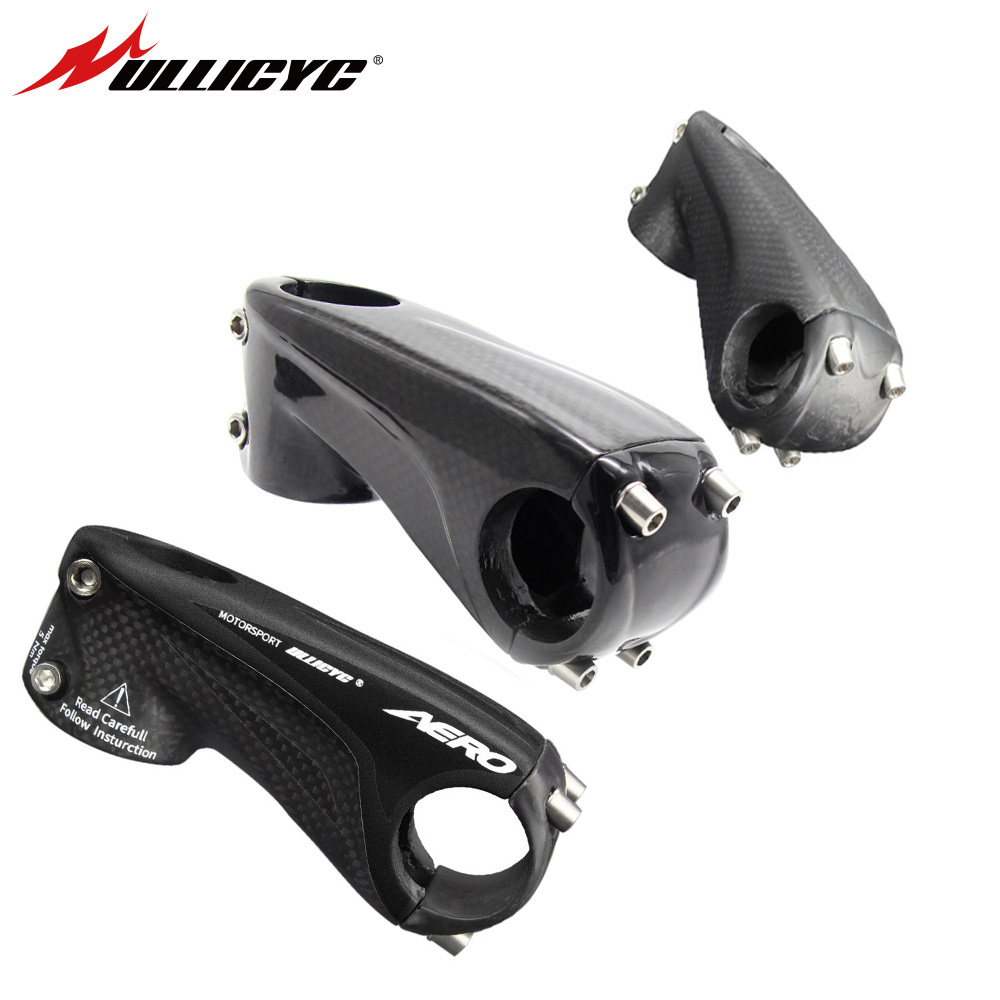 Ullicyc Carbon Stem Bicycle Road/MTB Stems Mountain Bike Stem T Design 3K Matte/Gloss 31.8*80/90/100/110mm LGC28 ultra light carbon fiber road bike mountain bike bicycle stem riser goose carbon stem 10 degree gloss matte 31 8 80 90 100 110mm