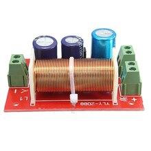 Maytir 1 Pc Réglable Multi Haut-Parleur Des Aigus/Basse 2 Unité Audio Diviseur de Fréquence 2 Way Crossover Filtres 400 W
