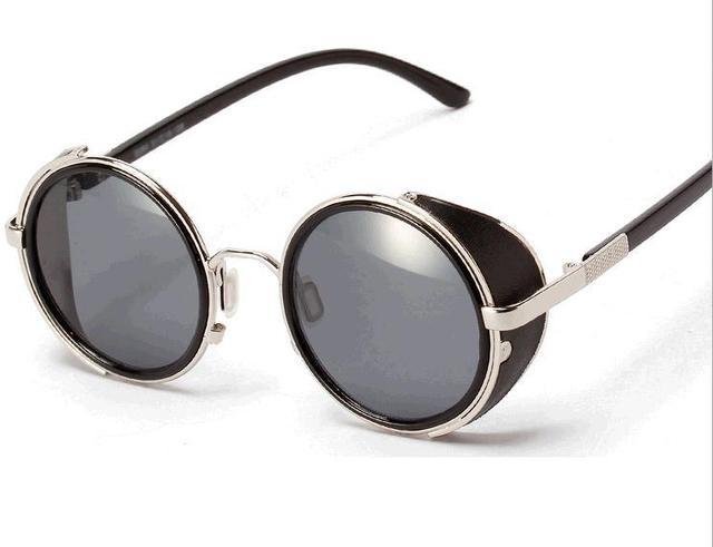 9962e5cfc Nova moda das mulheres Personalizado Óculos De Sol homem óculos de sol  Steampunk Retro óculos De