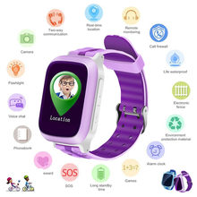 HIPERDEAL Kids Smart Watch Luxury Fashion DS18 Kids Baby GPS WiFi Locator Tracker Position Smart Watch Anti-lost Monitor May20(China)