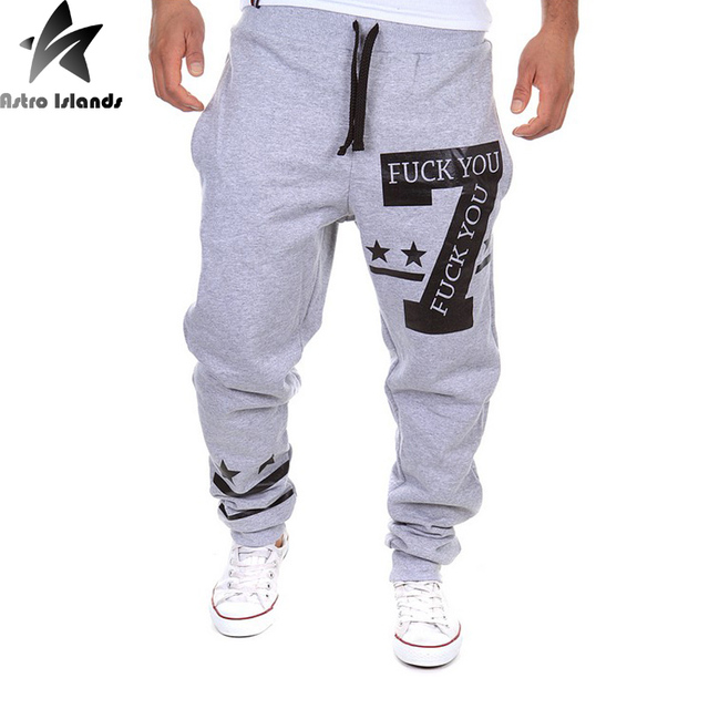 2016 Spring Autumn 3 colors M-XXL Men  Sportpants Rush Bodybuilding Sweatpants Center Forward Trouser  Fitness men joggers HY889