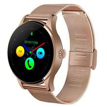 New Smartwatch K88h smart wacht für iphone android telefon MTK2502 pulsmesser schrittzähler WhatsApp uhr reloj inteligente