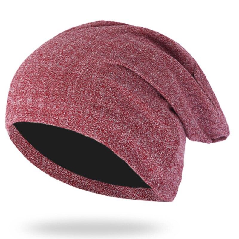 HT2146 Men Women Oversize Baggy Slouchy   Beanie   Warm Winter Hat Ski Chic Cap   Skullies     Beanies   Shiny Silver Line Winter   Beanie   Hat