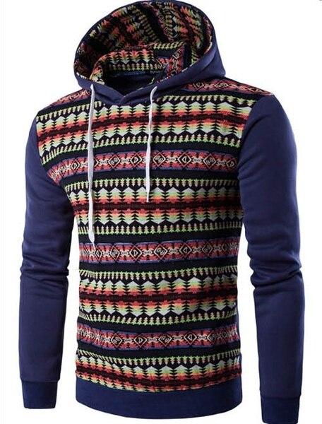 Plus Size New Men's Long-Sleeve Cardigan Slim Hoody