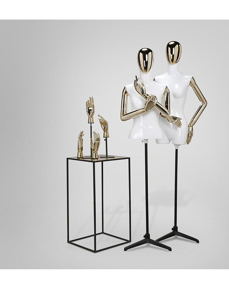 Новый Одежда высшего качества GRP мода женский манекен половина тела Модель с базы best значение