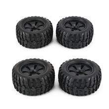 1 paar 1:10 RC Auto Tire Monster Truck Velg effen Wiel Hoge Snelheid voor HPI, Savage, XS, TM Flow, MT, ZD Racing Model Refit 120mm(China)