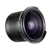 Neewer 55mm 0.35X Fisheye Wide Angle Lens with Macro Close Up Portion for Nikon D3400 D5600 Sony SLT A99V, A99II, A99, A77II