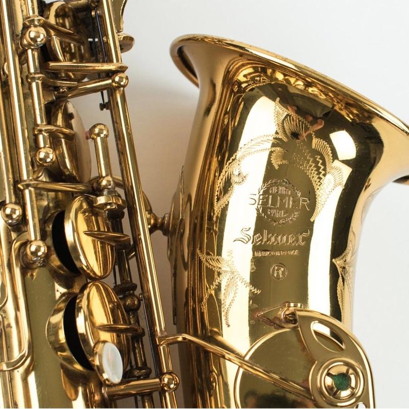 Fedex DHL Free Copy Selmer Mark VI Alto Saxophone Near Mint 97% Original Lacquer Gold Sax Alto Eb with mouthpiece ,case,gloves  цены