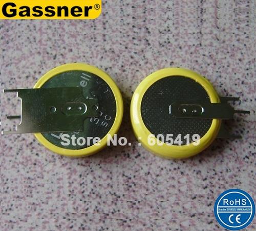 2d7b7e258 500 piunids/lote alfileres de soldadura CR2477 3 V baterías de pila ...