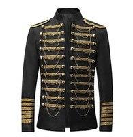 Prince Cosplay Costume Blazer Jacket Men's Rococo Medieval 18th Century Napoleon Jacket