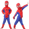 2016 Hot 4-6Yrs Crianças Tracksuits Conjuntos de Roupas Meninos Primavera Outono Crianças Dos Desenhos Animados do Dia Das Bruxas Spiderman Terno Do Esporte Roupas Casuais