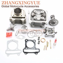 80cc Big Bore Kit Performance 9 Hole Cam Tensioners Rocker Assemblies for GY6 50cc Upgrade to
