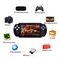 CoolBaby 4.3 inch Screen PAP Gameta II plus 64 Bit Handheld Game Console Support Camera MP4 MP5 Video Game Players