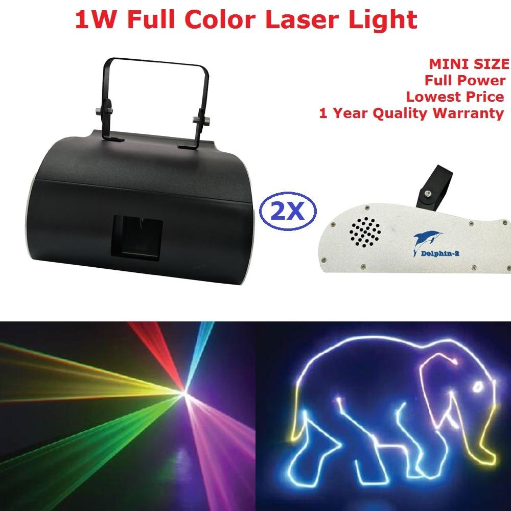 Mini Size 1W Dolphin Laser Light RGB Full Color Animation Beam Stage Lighting Party DJ Lights 1050mW DMX512 Cartoon Laser Lights цены онлайн