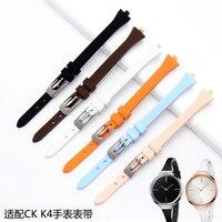 UYONG quality Rubber watchband Fit K4U236 K4U231 Women's soft silicone waterproof fashion strap 3mm lug +tools
