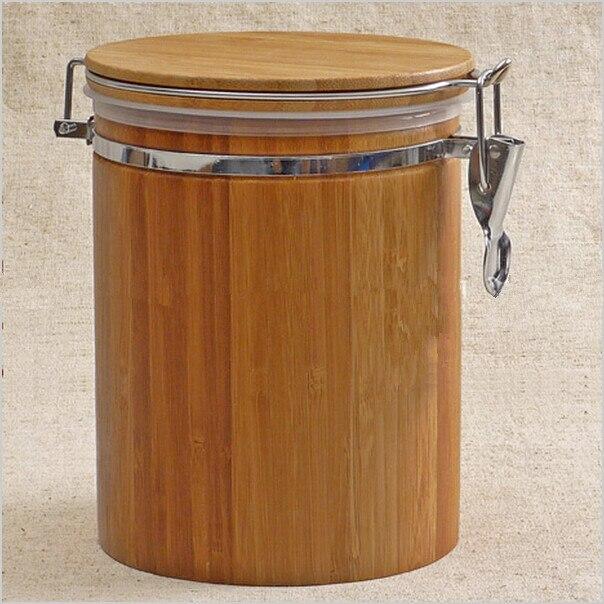 Natural Bamboo Storage Box 1