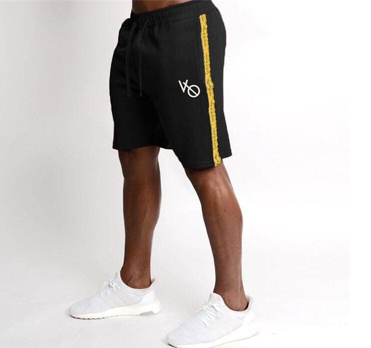 2019 Men Casual Summer Shorts Half Work Cargo Cotton Elastic Waist Fashion Gym Solid Beach Trousers M-XL Men Clothing