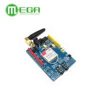 Free Shipping 1PCS LOT SIM900 GPRS GSM Shield Development Board Quad Band Module For Arduino Compatible