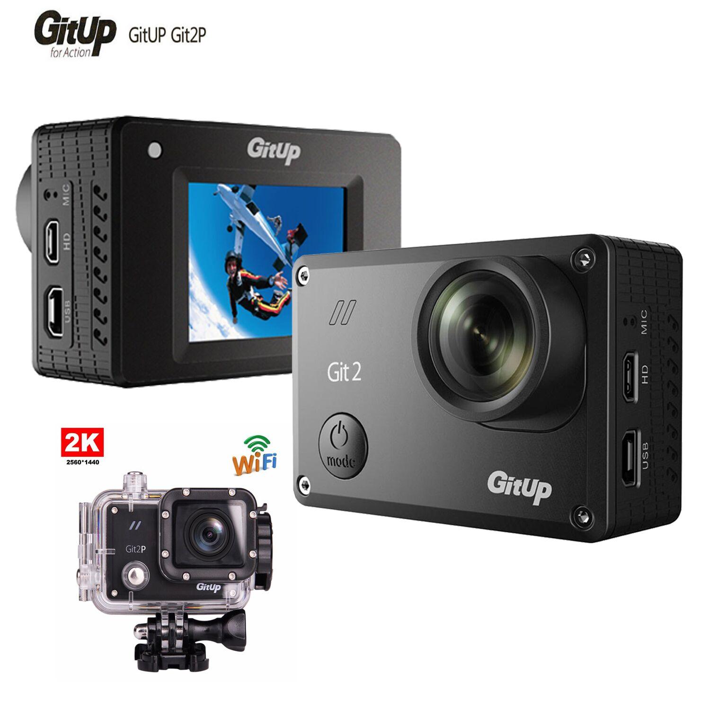 Gitup Git2 F18818 НОВАТЭК 96660 1600MP 1080р 60 кадров в секунду беспроводной 2К Спорт Стандартный Открытый камеры Версия