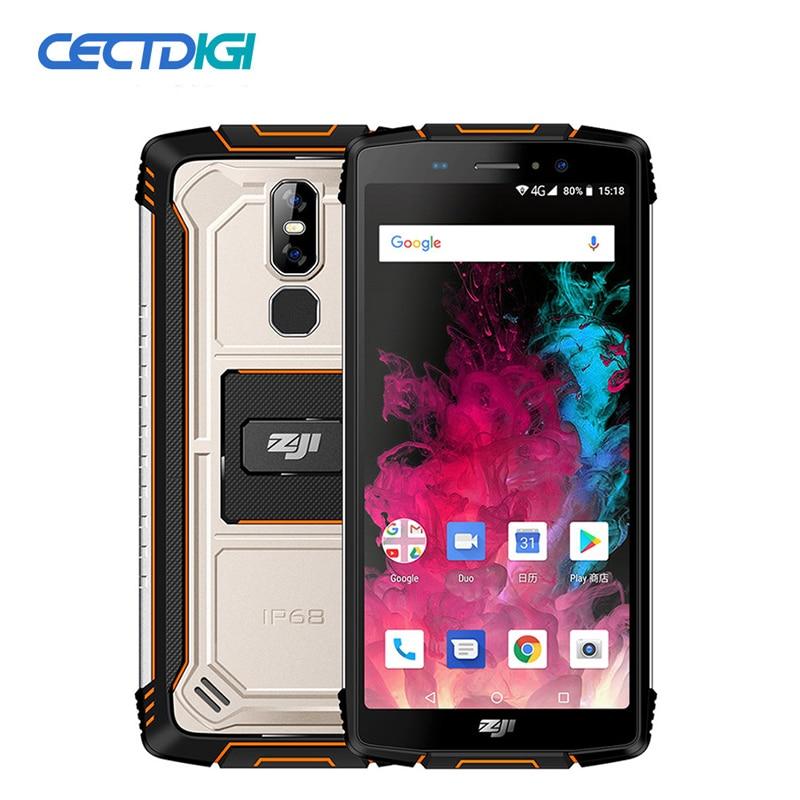 "ZOJI Z11 IP68 Waterdichte 10000mAh 9 V/2.7A Quick Charger Android 8.1 5.99 ""4 GB + 64GB Gezicht ID Vingerafdruk 16MP OTG OTA Mobiele Telefoon-in Mobiele Telefoons van Mobiele telefoons & telecommunicatie op AliExpress - 11.11_Dubbel 11Vrijgezellendag 1"