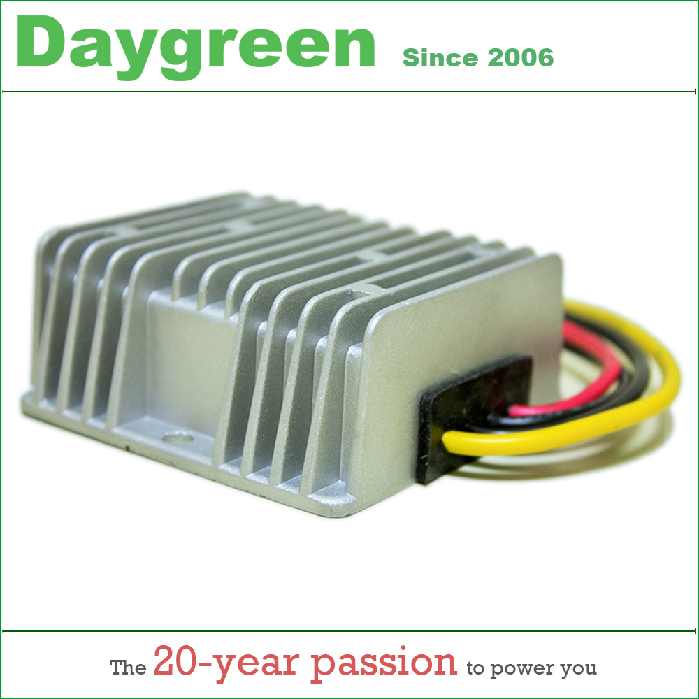 цена на 36VDC 48VDC to 12VDC 15 AMP 180W DC Voltage Stabilizer 36V 48V To 12V 15A 180W Converter Regulator Waterproof Modules Daygreen