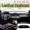 Für Kia Sorento Prime 2015 2016 2017 2018 2019 Leder Dashmat Dashboard Abdeckung Dash Teppich Custom Car Styling sonnenschirm LHD + RHD