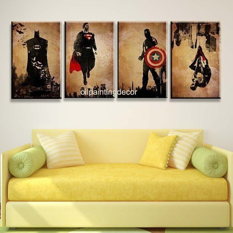 Dorable Batman Wall Decor Pictures - Wall Art Collections ...