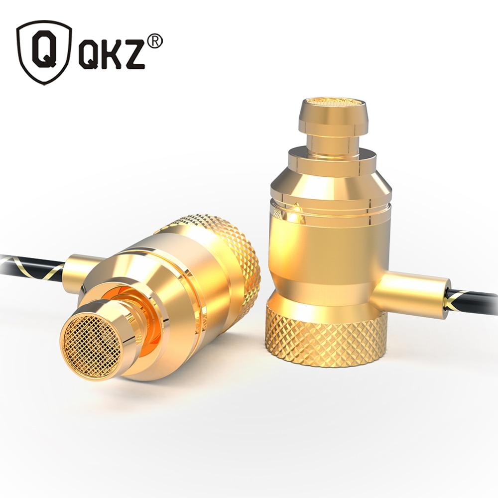 QKZ X5 Earphones Bass Headset Phone Metal auriculares Ear Music DJ Mp3 Earphone HIFI audifonos fone de ouvido