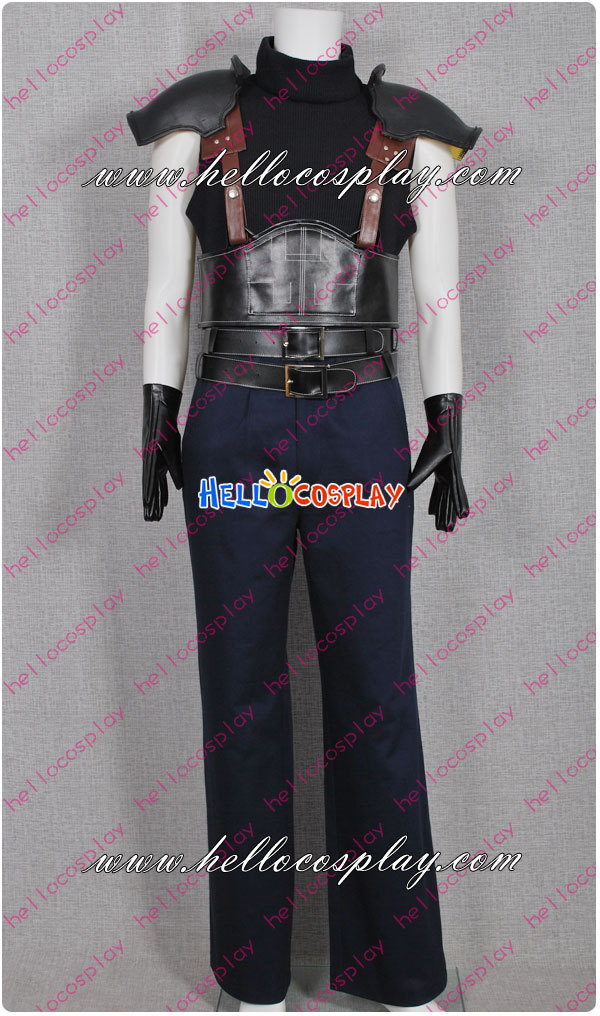 Final Fantasy VII Cosplay Zack Fair Costume H008
