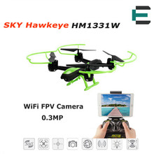 ET RC Drone SKY Hawkeye 1331W RC Quadcopter FPV Camera 4CH 2.4G 2MP WIFI Real-time Transmission Hobby Toys RC Aircraft VS X5C