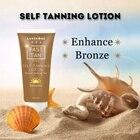 1 Week Suntan Cream Color Stay Bronze Self Sun Tan Tanning Enhance Day Tanning Cream Natural Bronzer Sunscreen Tanner Lotion