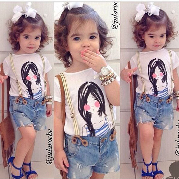 Fashion dress for toddlers