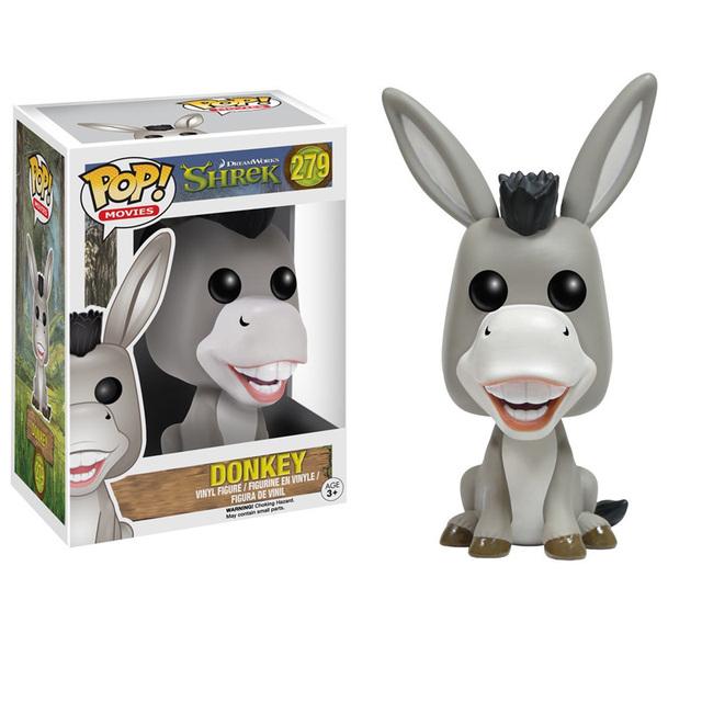 Original Funko pop Monster Shrek – Donkey Cartoon Figure Collectible Vinyl Figure Model Toy with Original box
