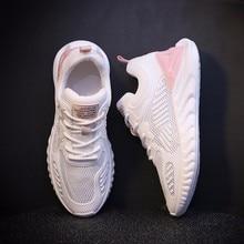 أحذية رياضية صيفية للنساء مزودة بشبكة تسمح بالتهوية أحذية نسائية لممارسة رياضة التنس أحذية نسائية بتصميم جديد شحن مباشر