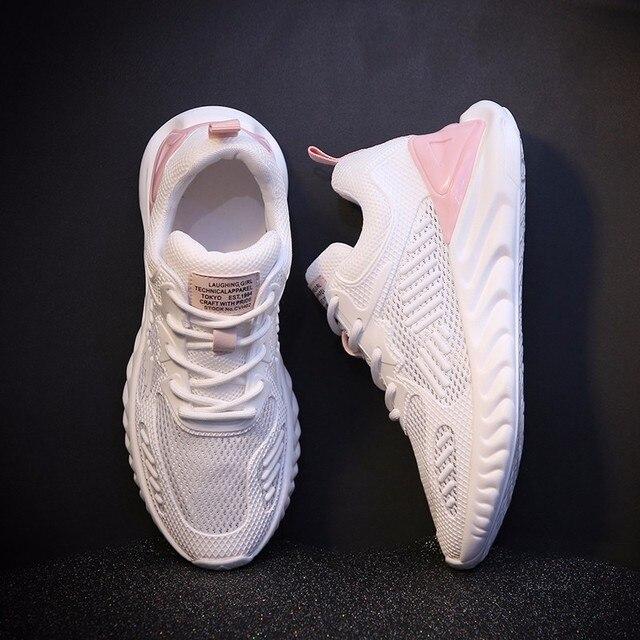 Women Sneakers Summer Breathable Mesh Brand Shoes for Woman Tenis Feminino Ladies Shoe Basket Femme New Designer Dropshipping