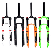2018 SWTXO Mtb Bike Fork Air Suspension 26/27.5Manual Control Aluminum-magnesium alloy Accessory 4 Colors