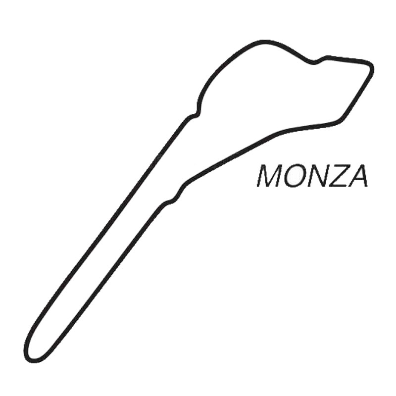 144cm135cm Car Styling Monza Map Vinyl Car Sticker Decal